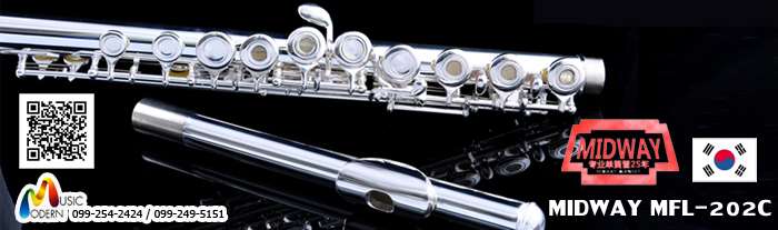 Flute Midway Student Model 202C
